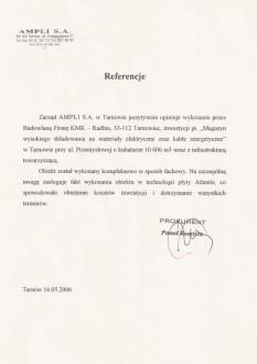 AMPLI SA Tarnów