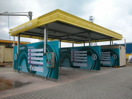 Budowa myjni samochodowej 9