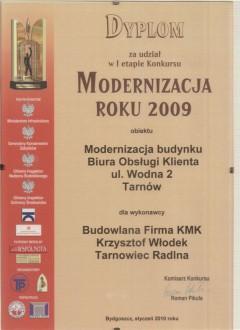 Dyplom modernizacja