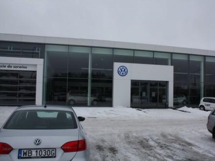 Hala Stalowa - Salon Samochodów Volkswagen