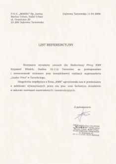 P.H.U. MAREL Sp.J Dąbrowa Tarnowska